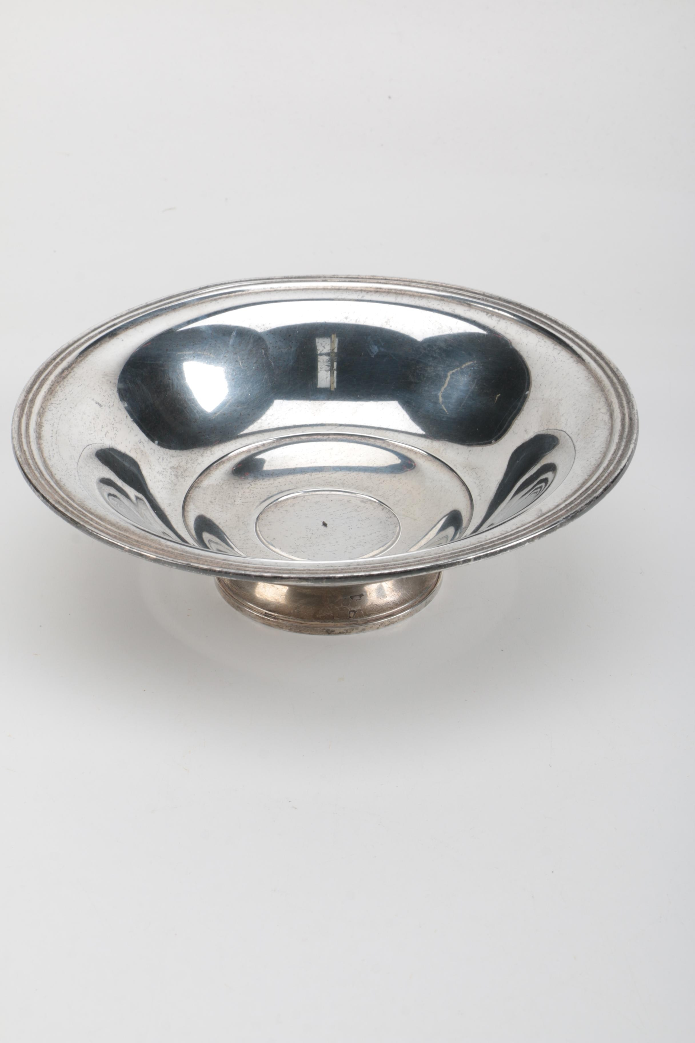 Wm. Rogers Mfg. Co. Weighted Sterling Silver Bowl