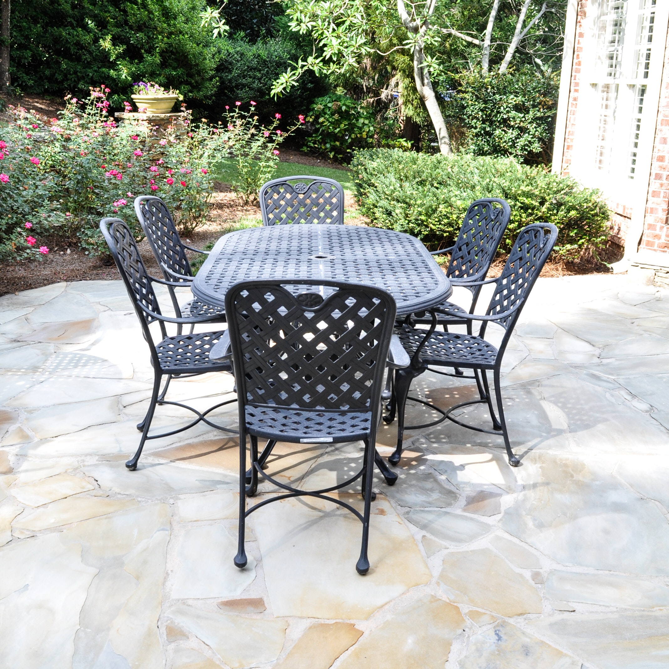 Summer Classics Provence Collection Patio Set