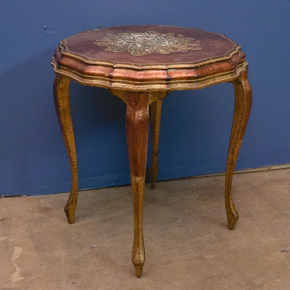 Florentine Style Side Table