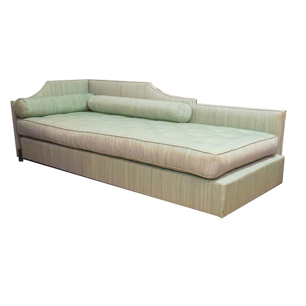 Louis XVI Style Seafoam Green Fainting Couch