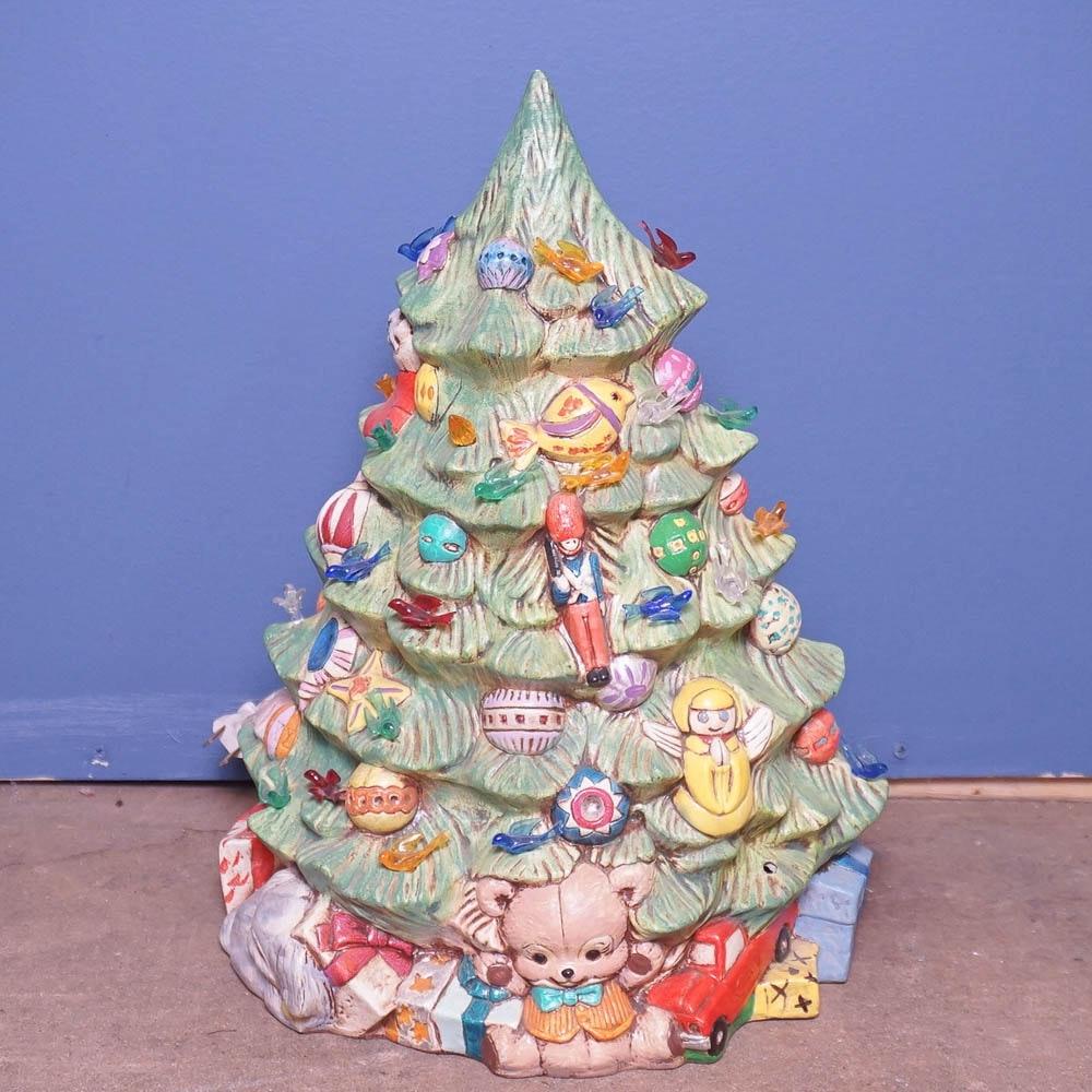Vintage Ceramichrome Christmas Tree