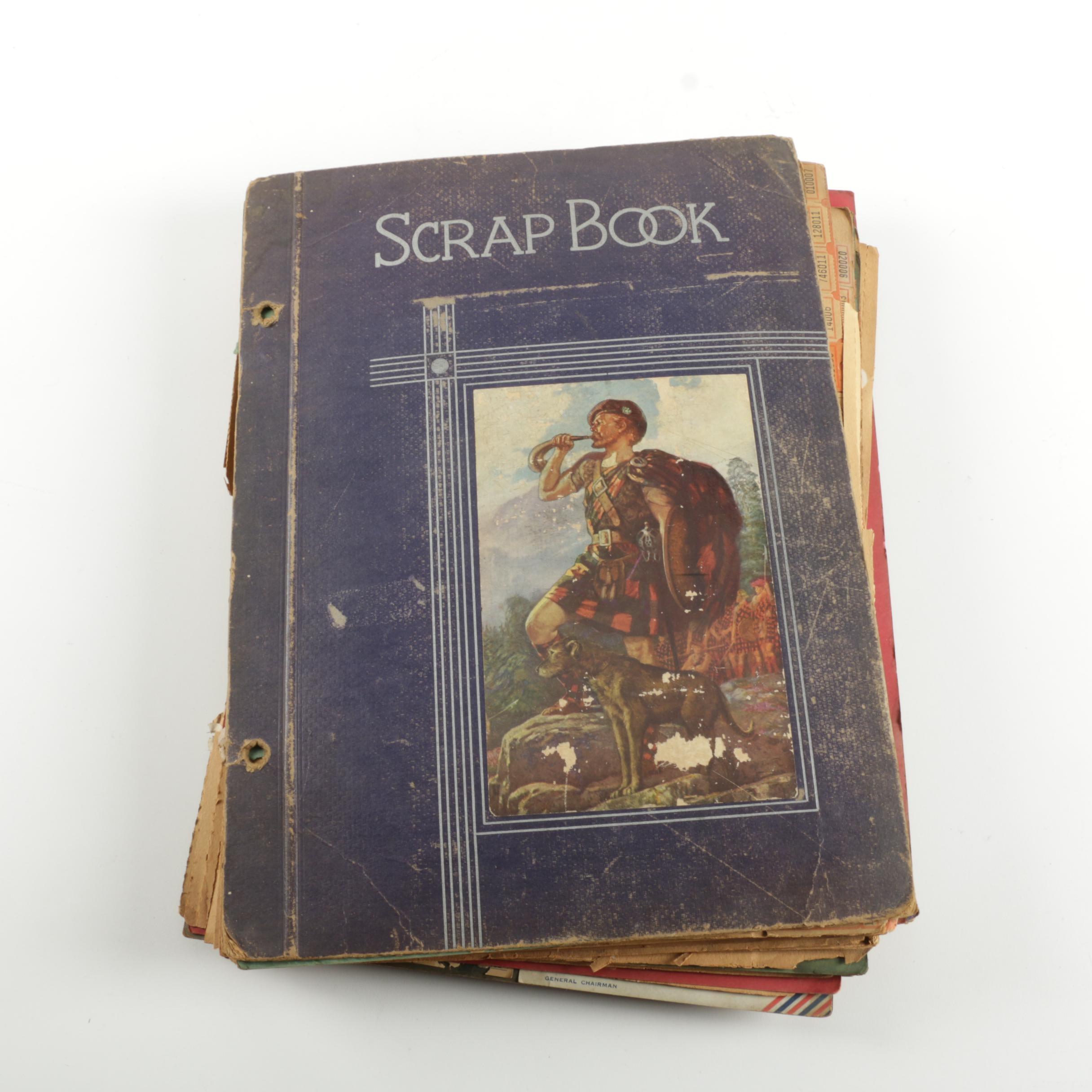 Ticket Scrap Book