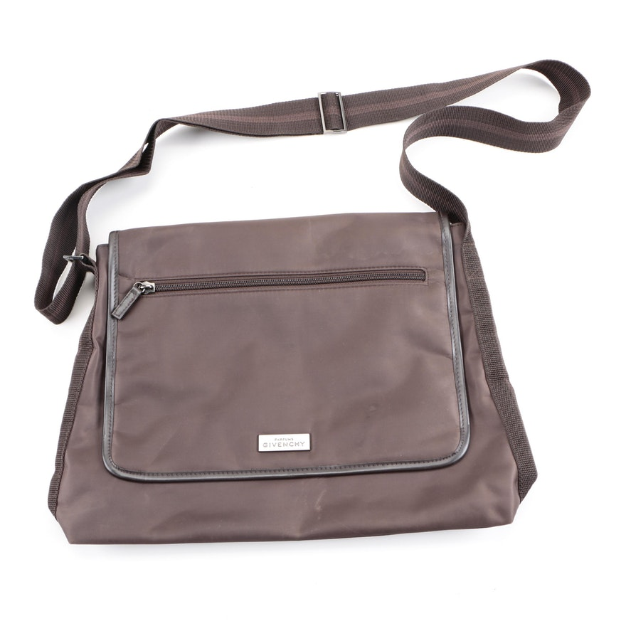 764ab9124113 ... Parfums Givenchy Brown Messenger Bag ... quality design c9526 a5906 ...