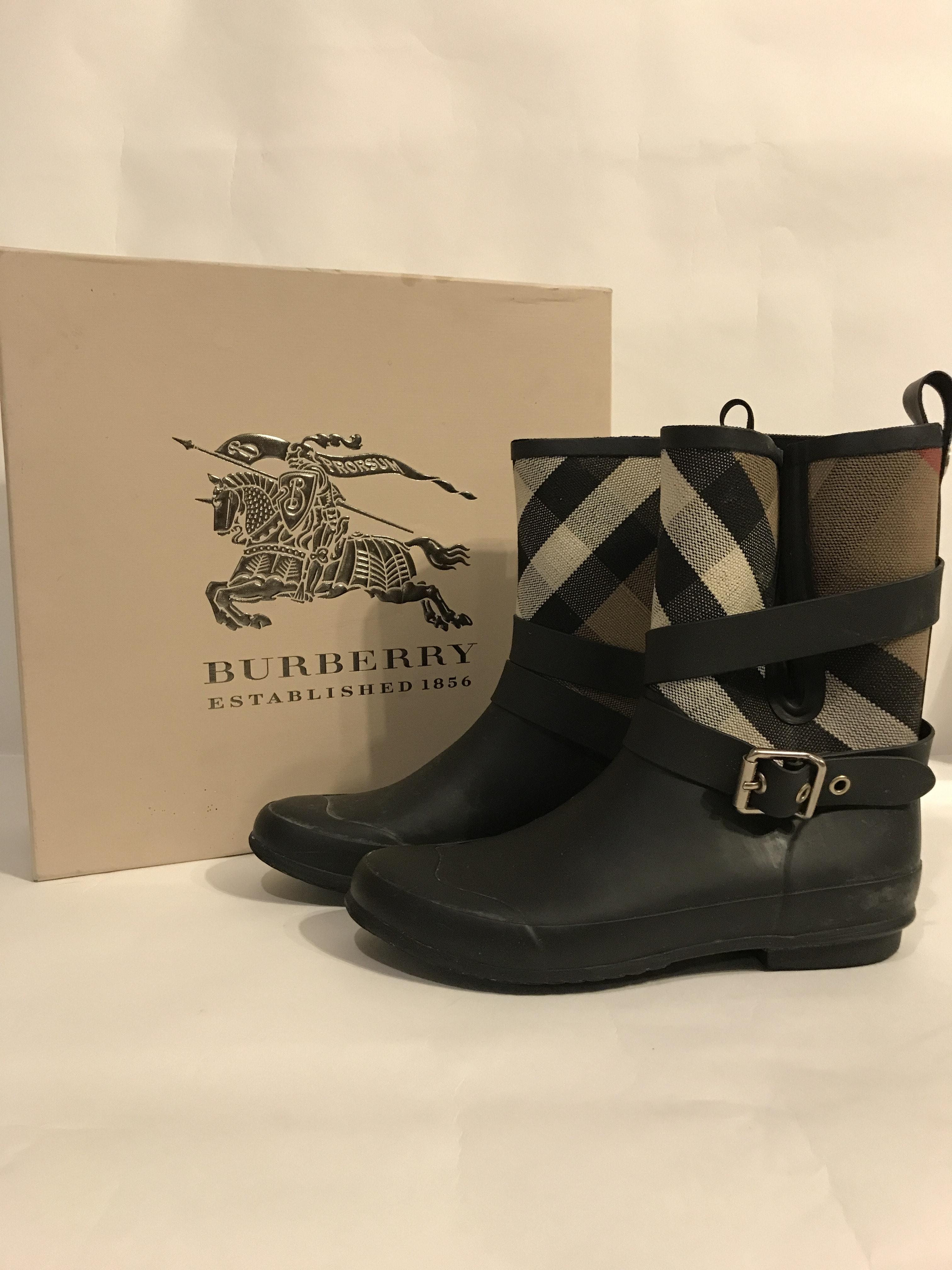 "Burberry ""Holloway"" Rain Boots"