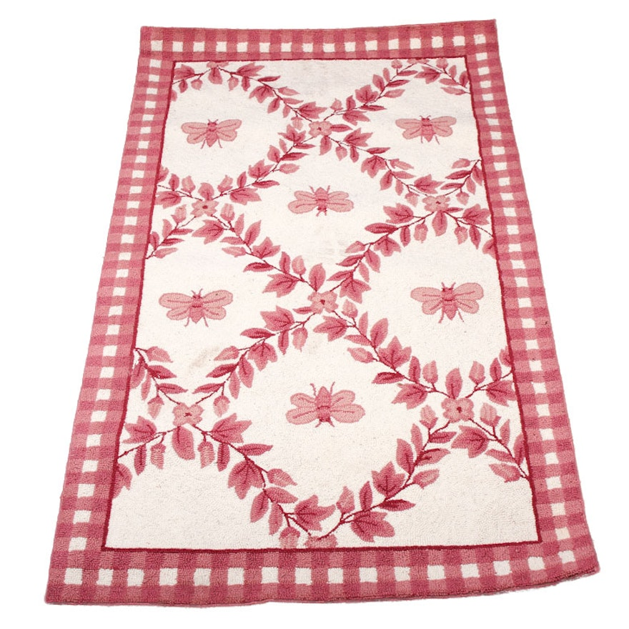 """Vintage Safavieh """"Chelsea Collection"""" Hand Hooked Rug"""