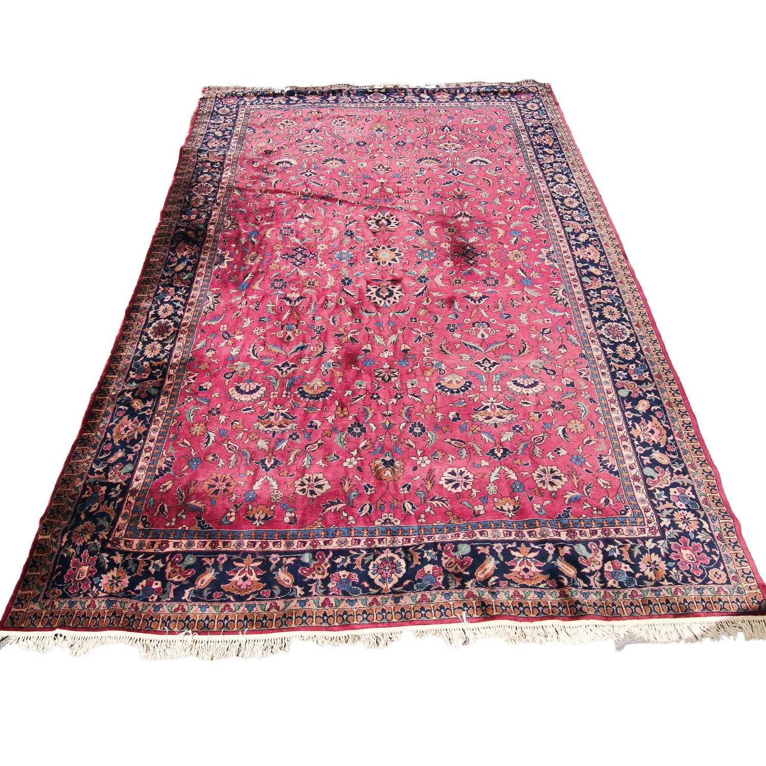 Hand-Knotted Turkish Sparta Wool Area Rug
