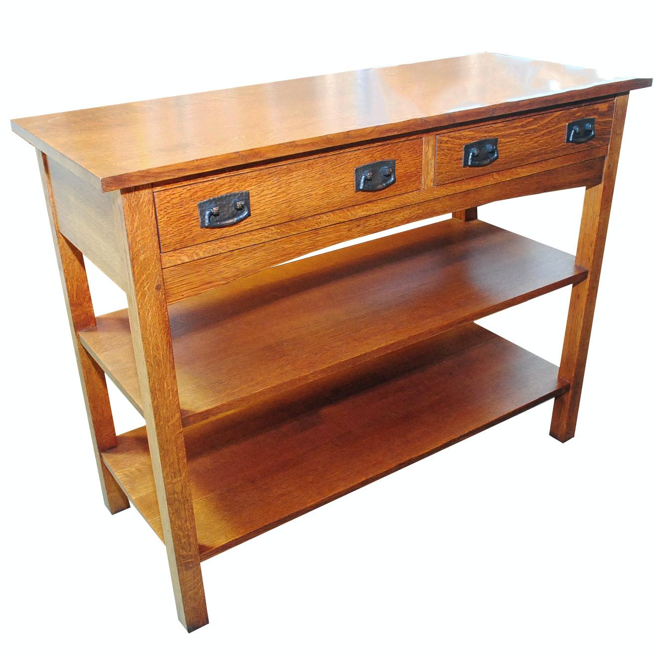 """Mission"" Oak Sideboard by Stickley Furniture"