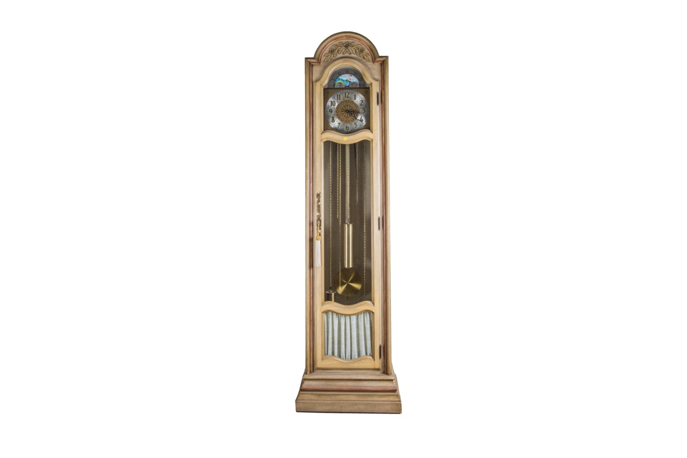 trend grandfather clock by sligh furniture