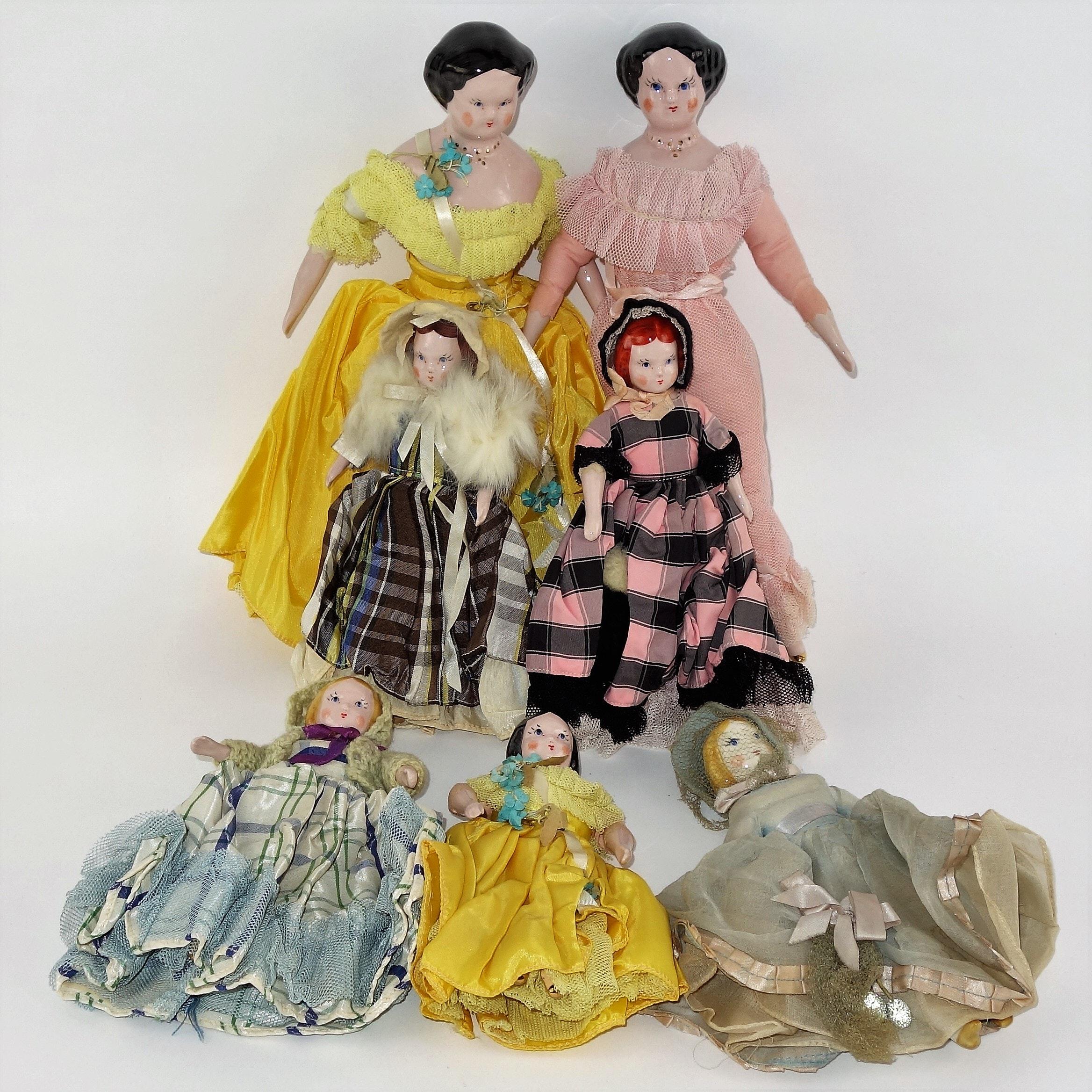 Vintage Hand Made China Dolls