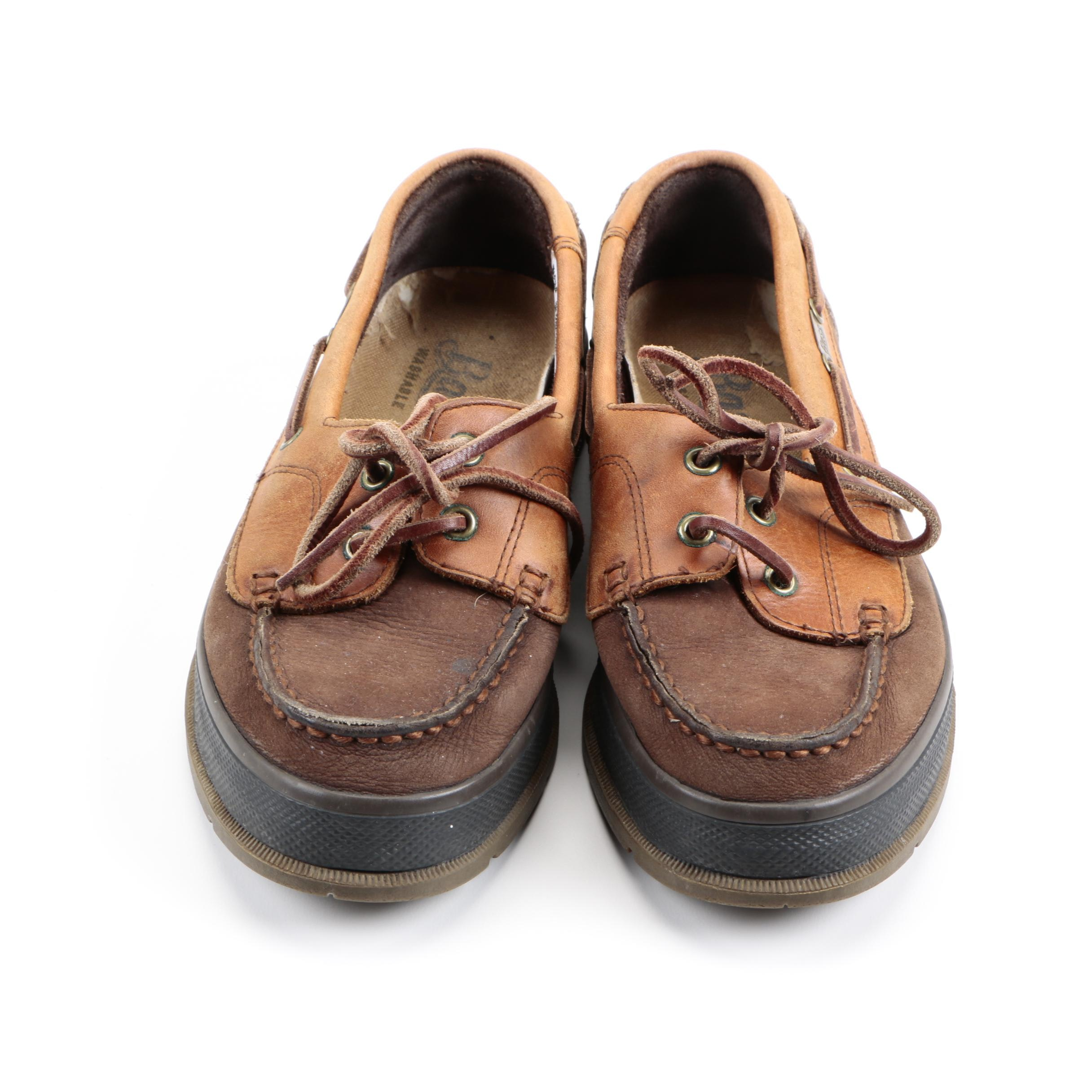 Women's Bass Leather Boat Shoes