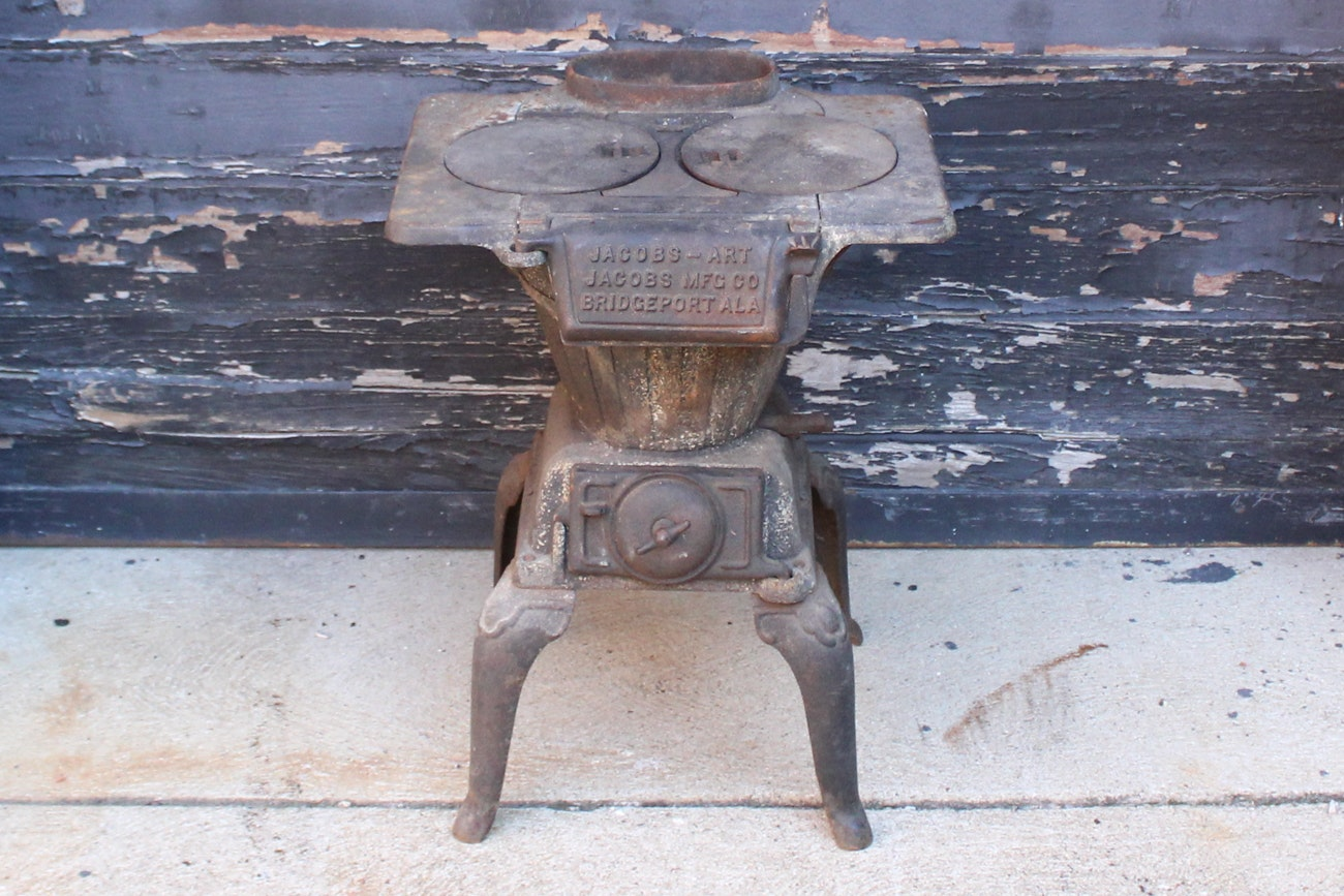 Antique Jacobs-Art No. 7 Antique Cast Iron Stove