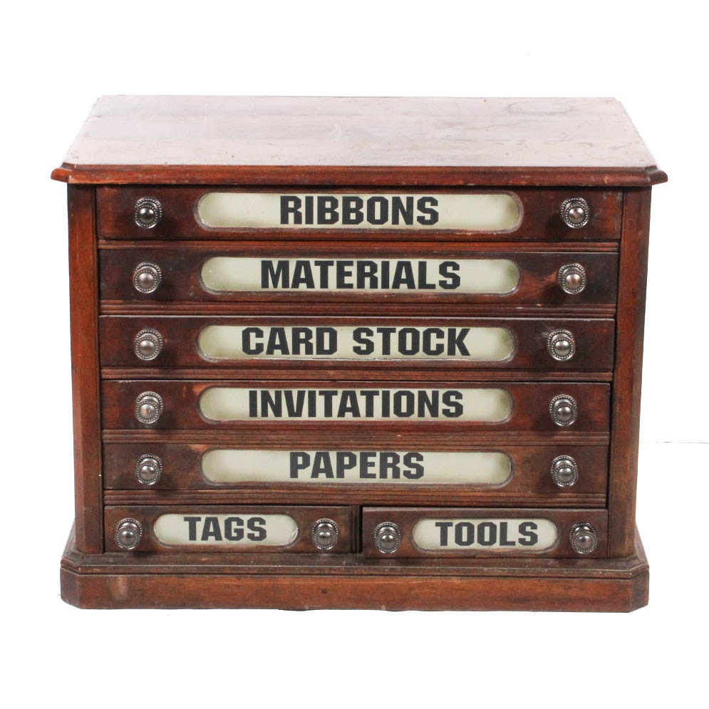 Wooden Craft Cabinet