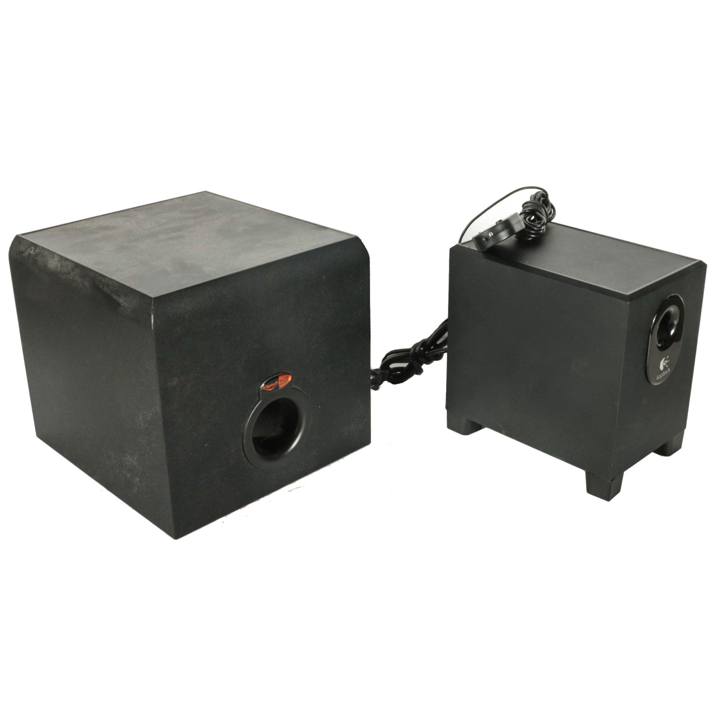 Logitech Speaker and Klipsch Lucas Amplifier