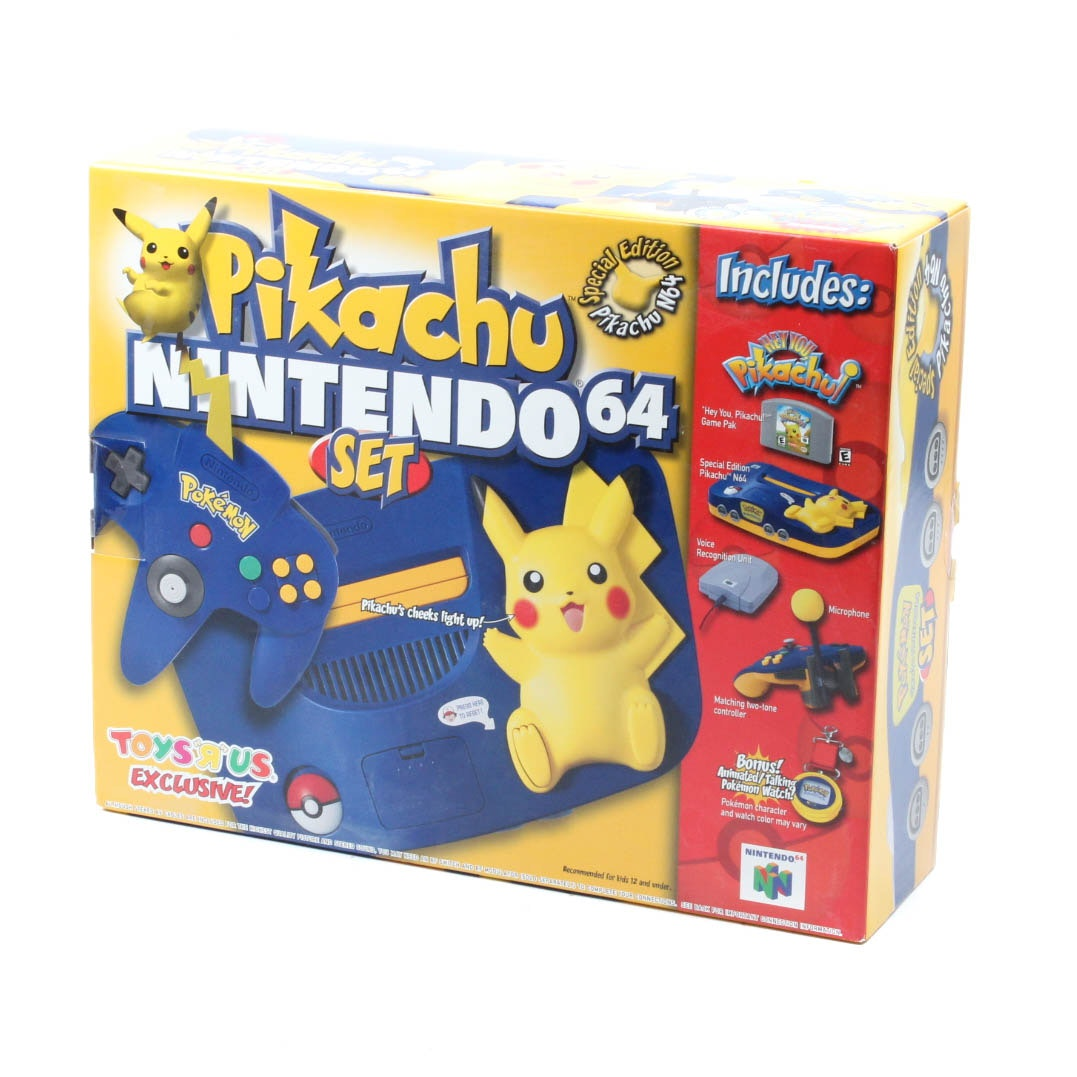 Special Edition Pikachu Nintendo 64