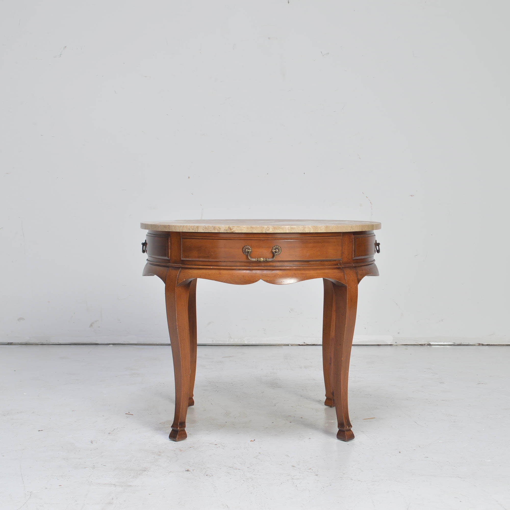 Vintage Marble Top Heritage Side Table