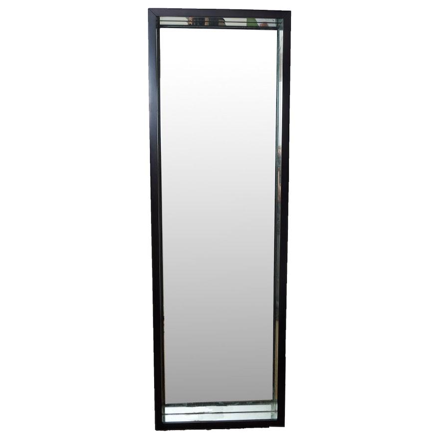 Full Length Mirror in a Deep Mirrored Frame : EBTH