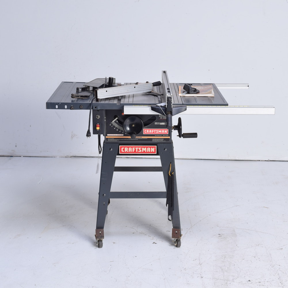 Sears Craftsman 10 Inch Table Saw