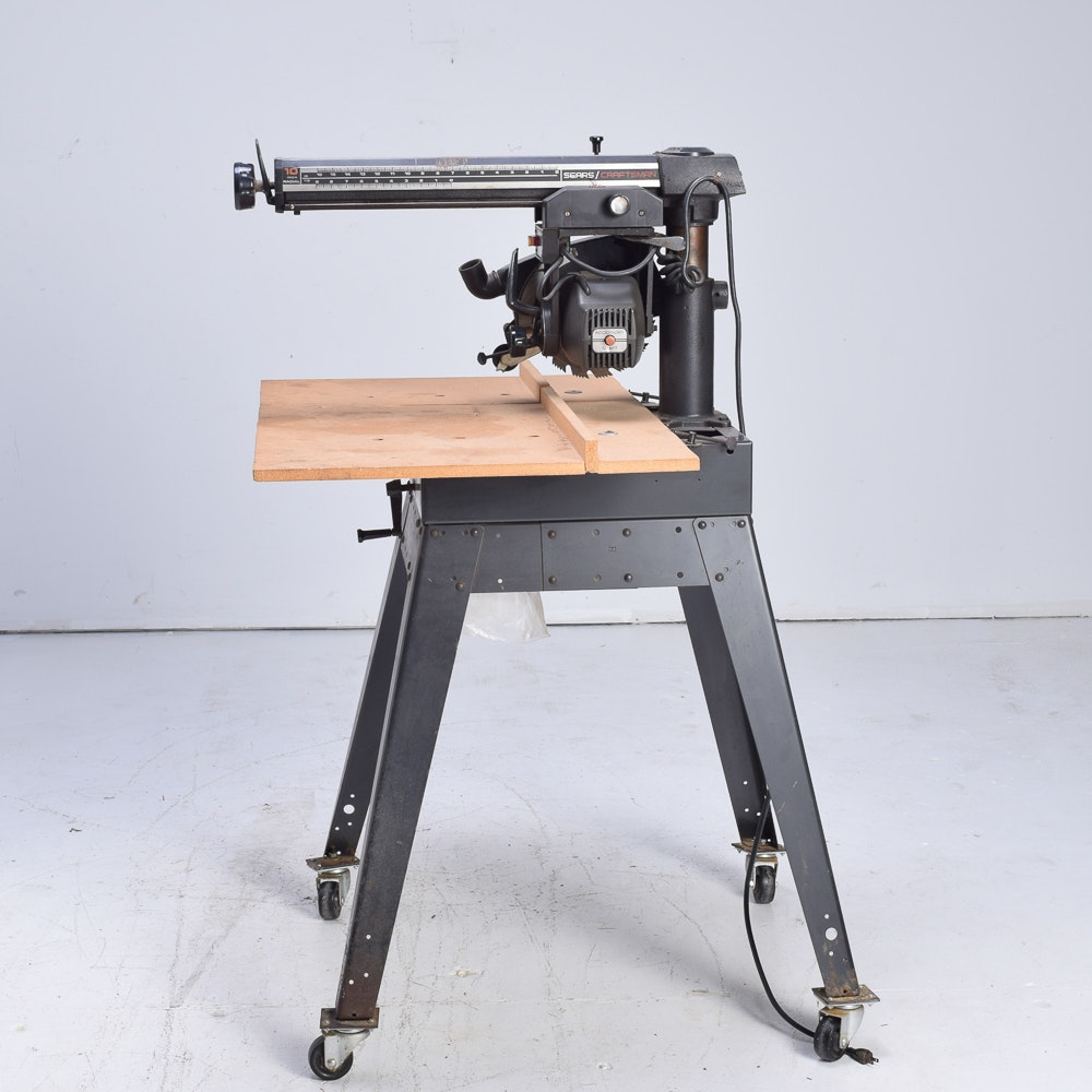 Sears Craftsman 10 Inch Radial Saw with Table