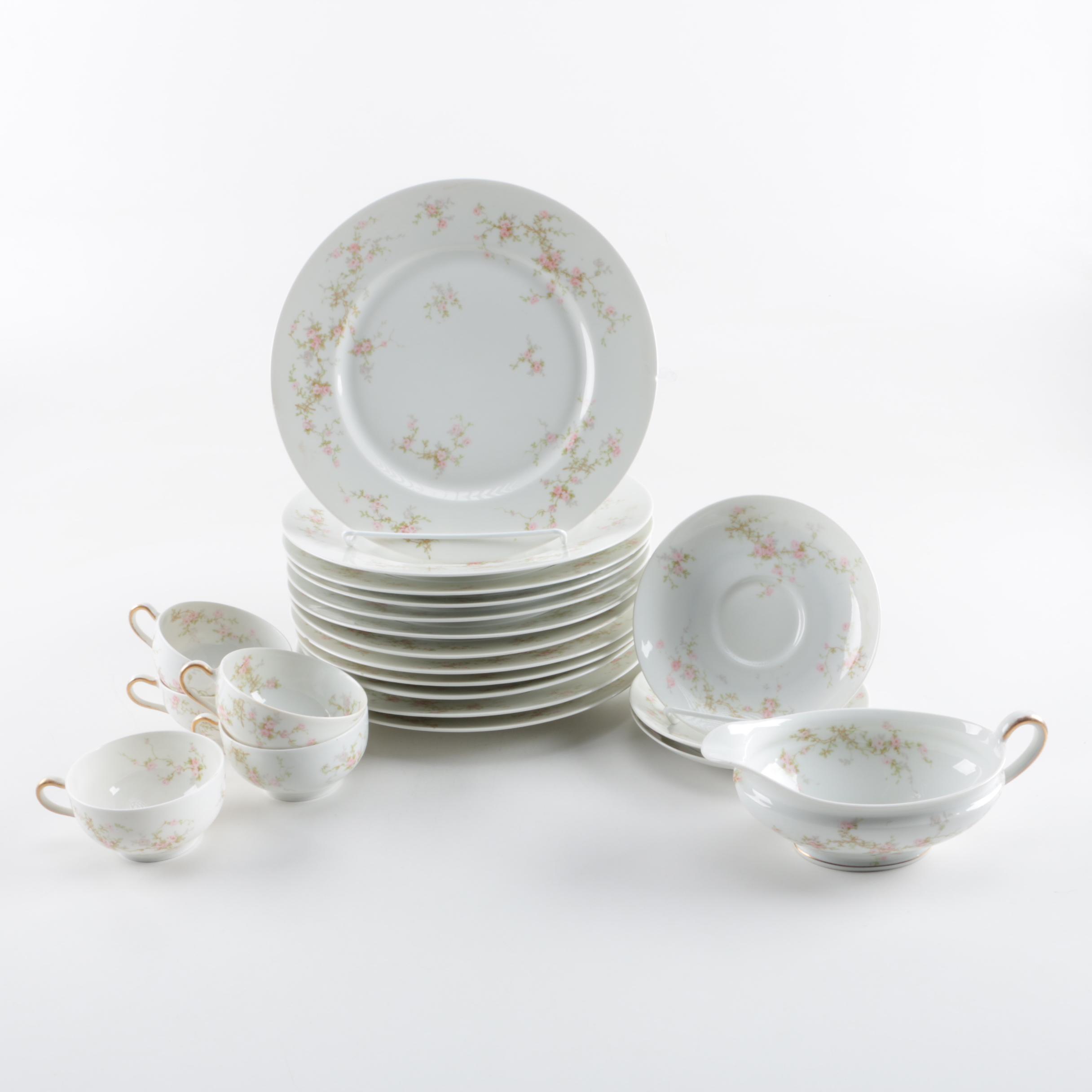 Theodore Haviland \ Lucille\  Porcelain Limoges Tableware ... & Theodore Haviland \