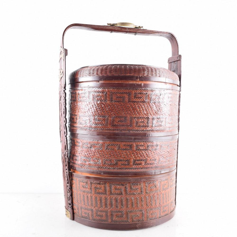 Chinese Woven Wedding Basket