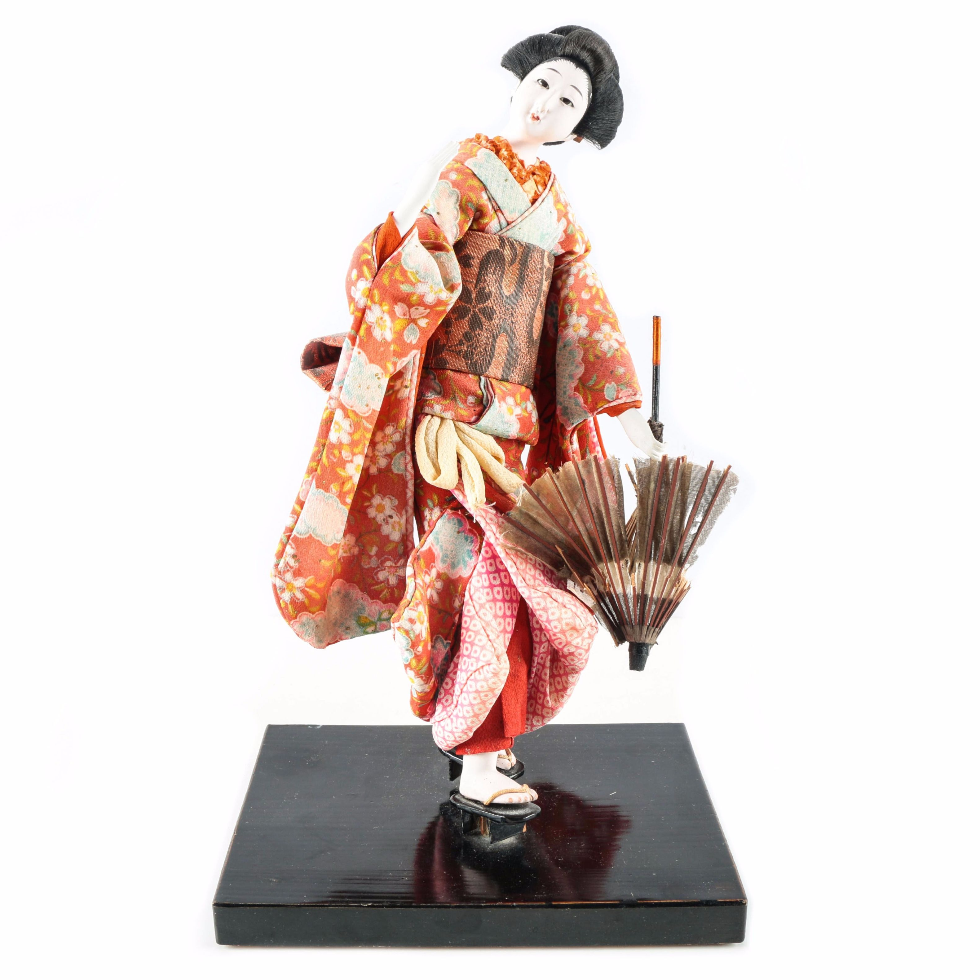 Ceramic Japanese Geisha Doll