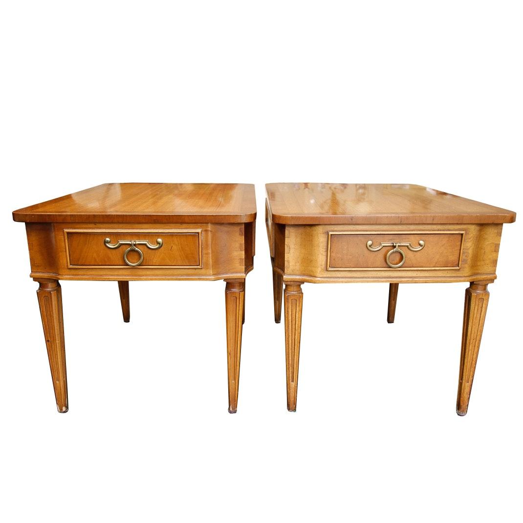 """Pair of Hollywood Regency """"Pavane"""" End Tables by Tomlinson"""
