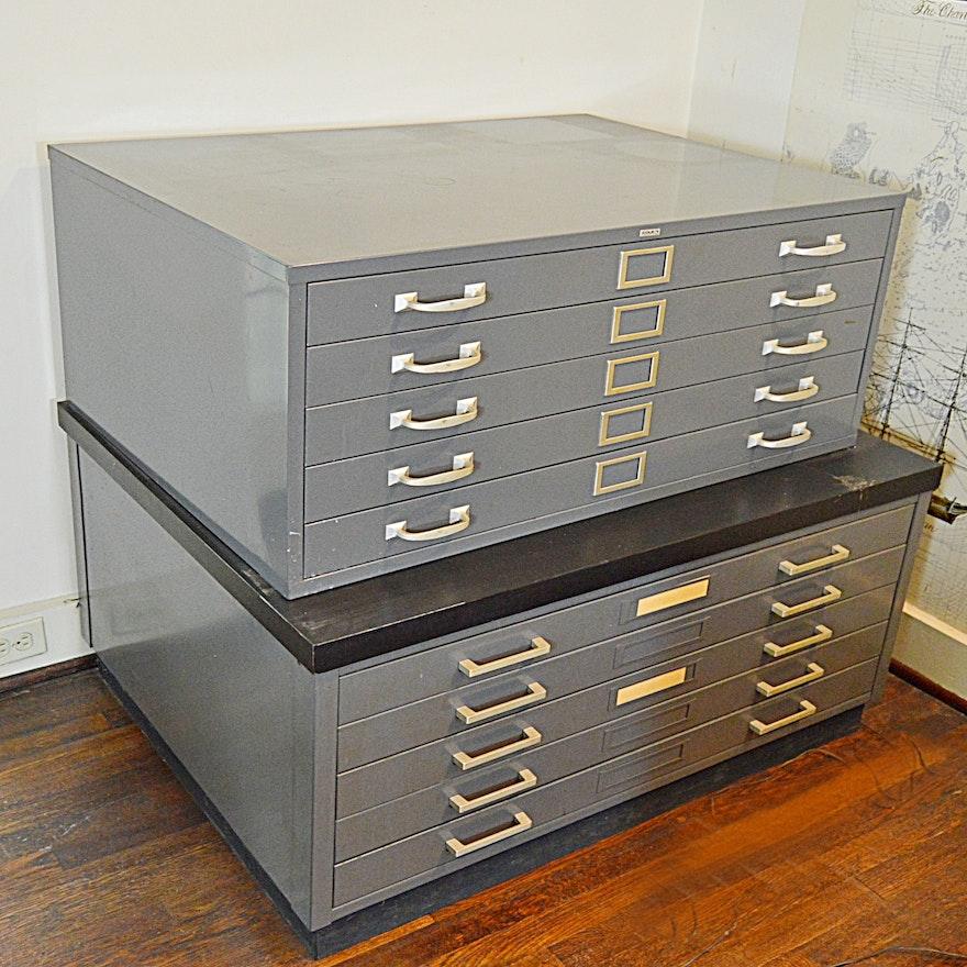Two metal blueprint drawer units ebth two metal blueprint drawer units malvernweather Choice Image