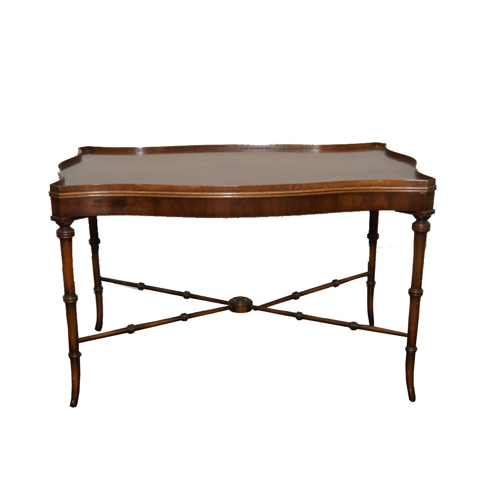 French Provincial Style Mahogany Coffee Table