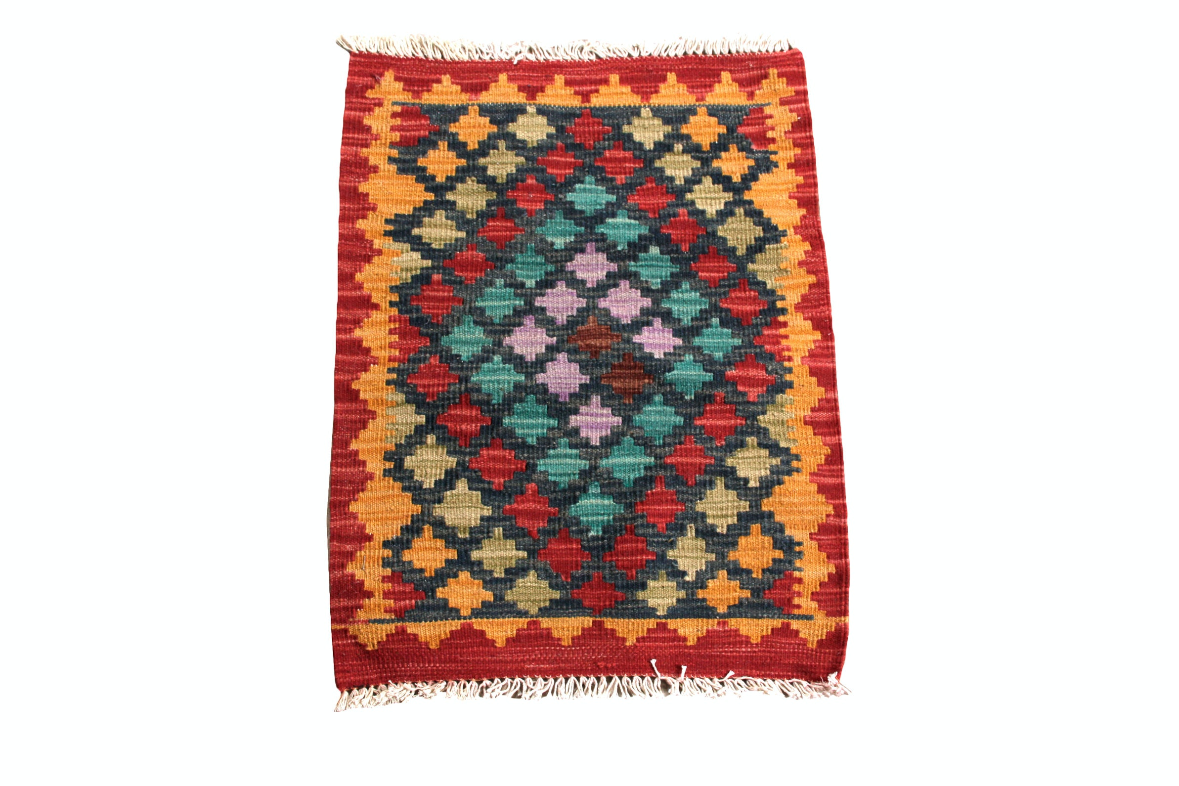 Hand Knotted Turkish Kilim Rug