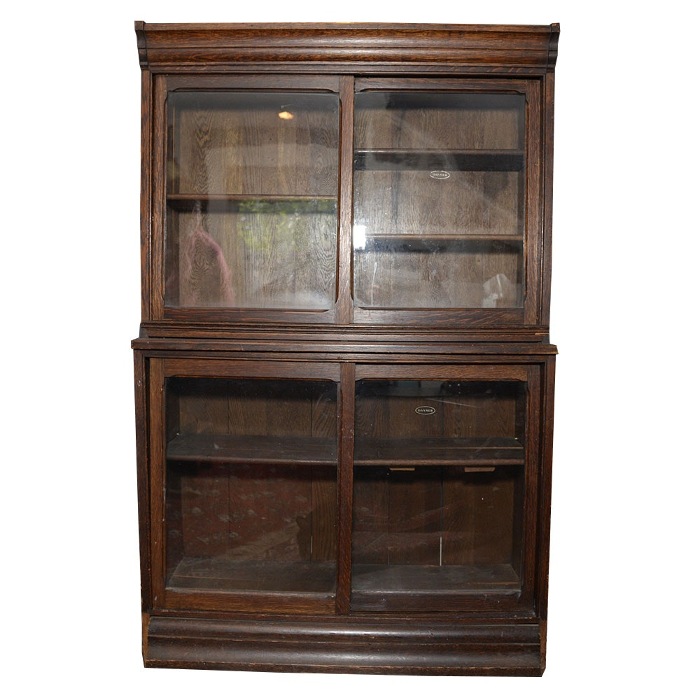 Early 20th Century Oak Danner Stacking Bookcase