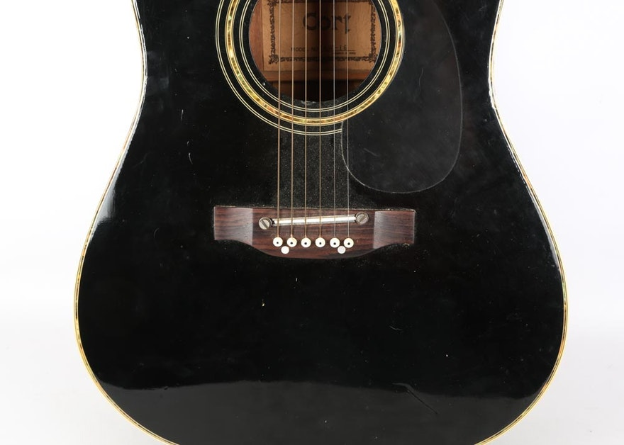 Washburn parlor guitar