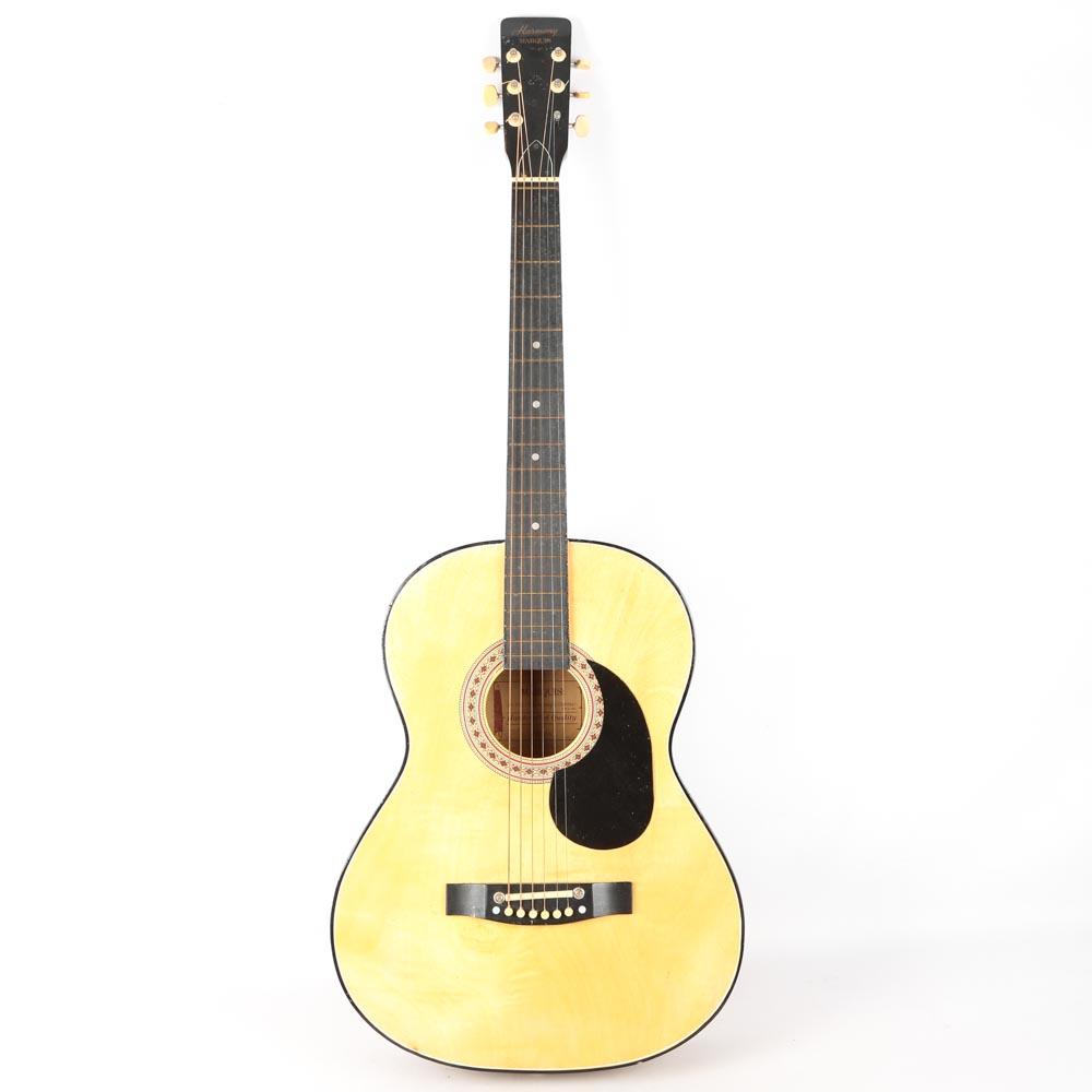 Stella harmony guitar
