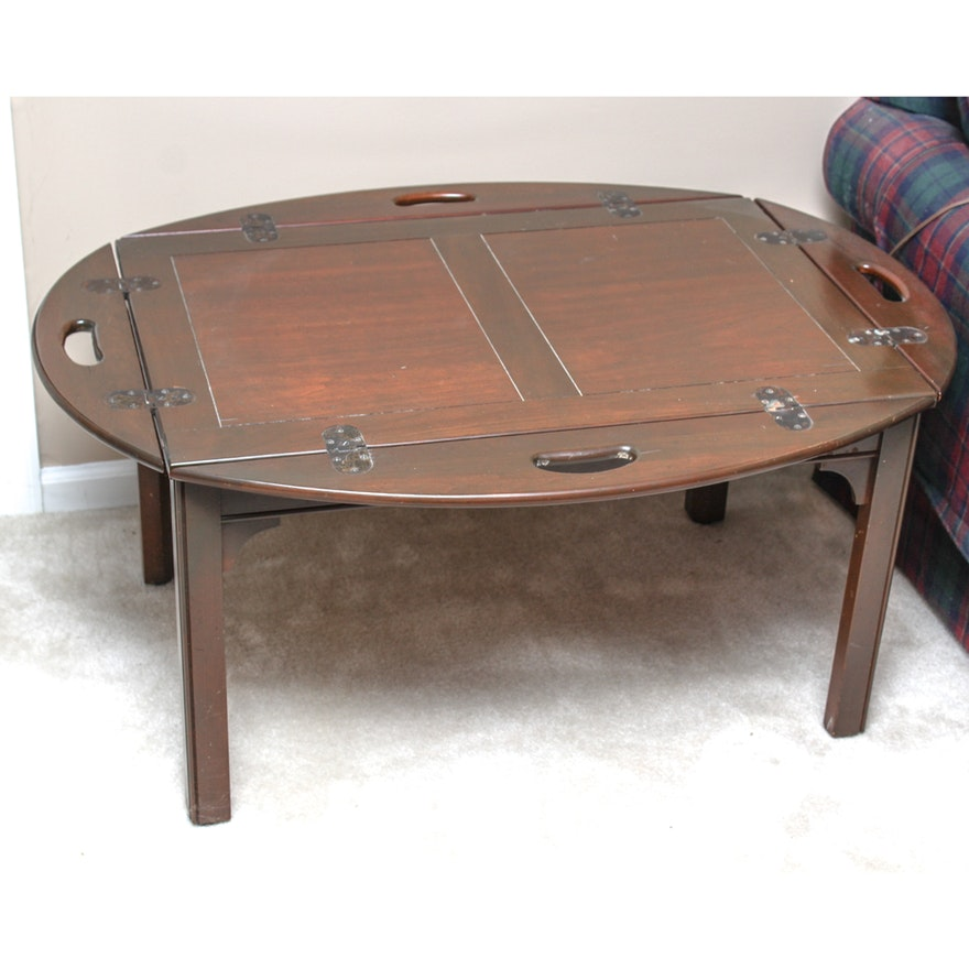 Vintage Cherry Butler Table By Pennsylvania House