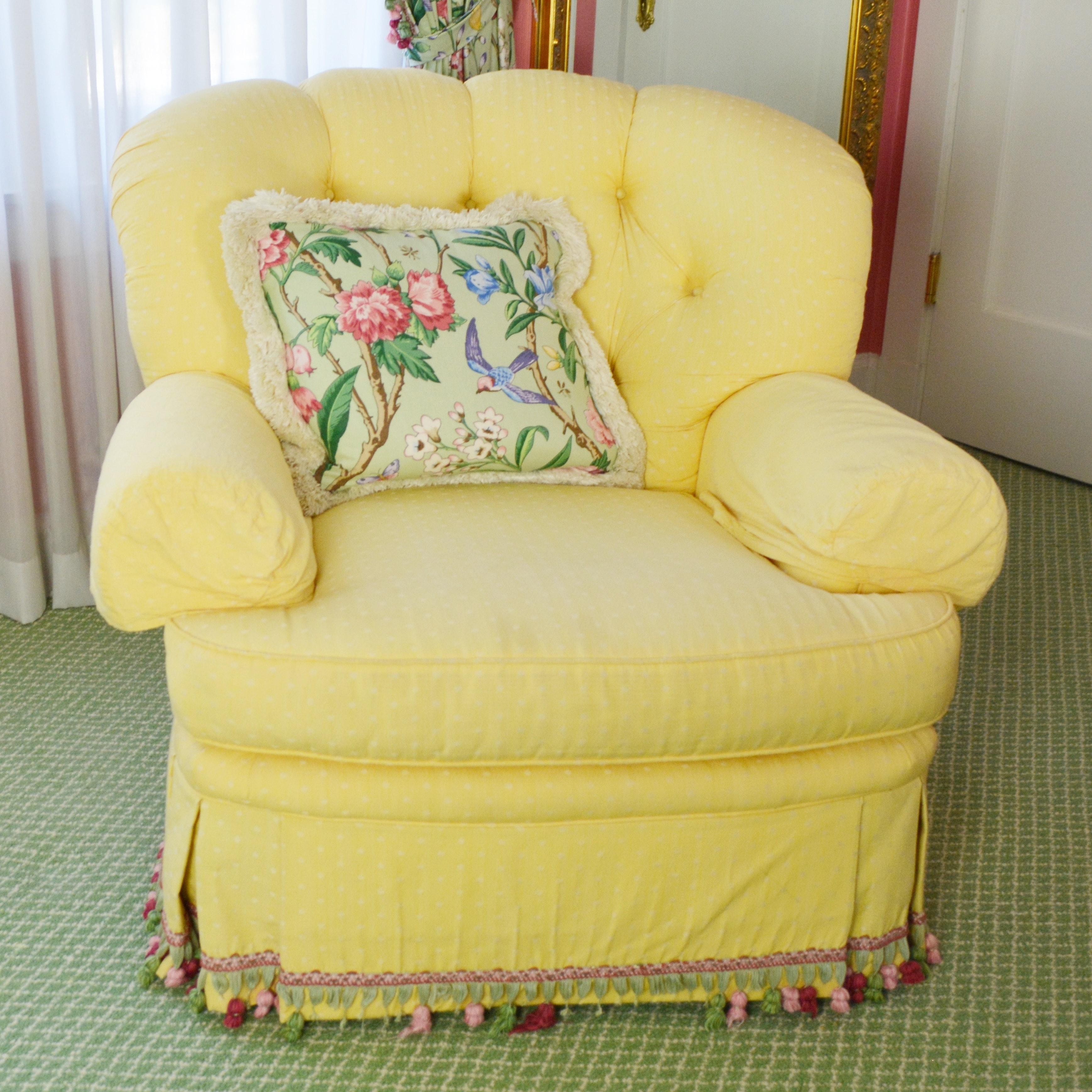 Pearson Upholstered Swivel Armchair
