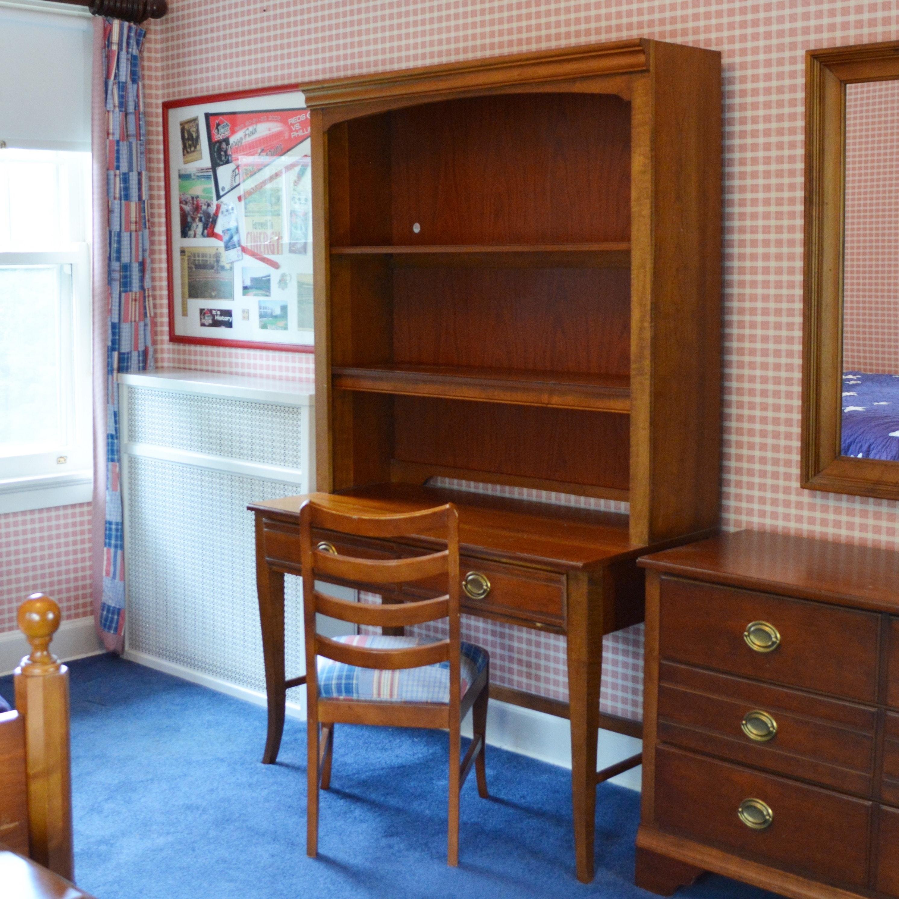 Eddie Bauer Lifestyles Desk, Hutch And Chair By Lane ...