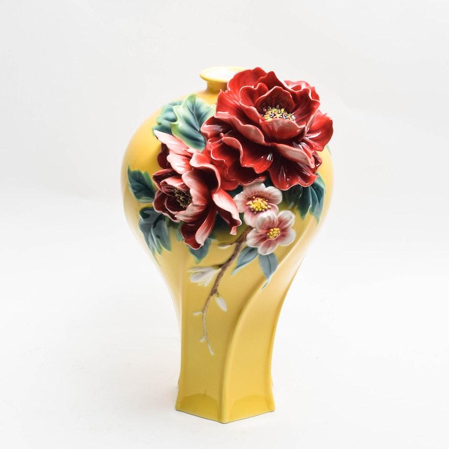 Franz Collection Porcelain Vase Ebth