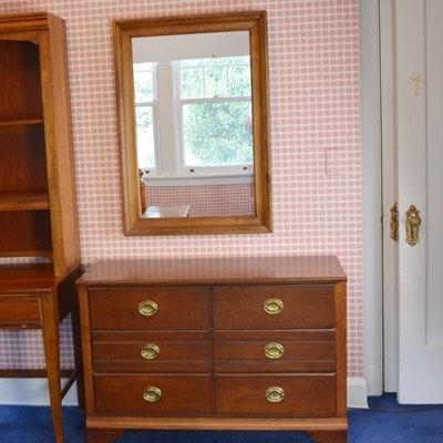 Eddie Bauer Lifestyles Dresser And Mirror By Lane ...