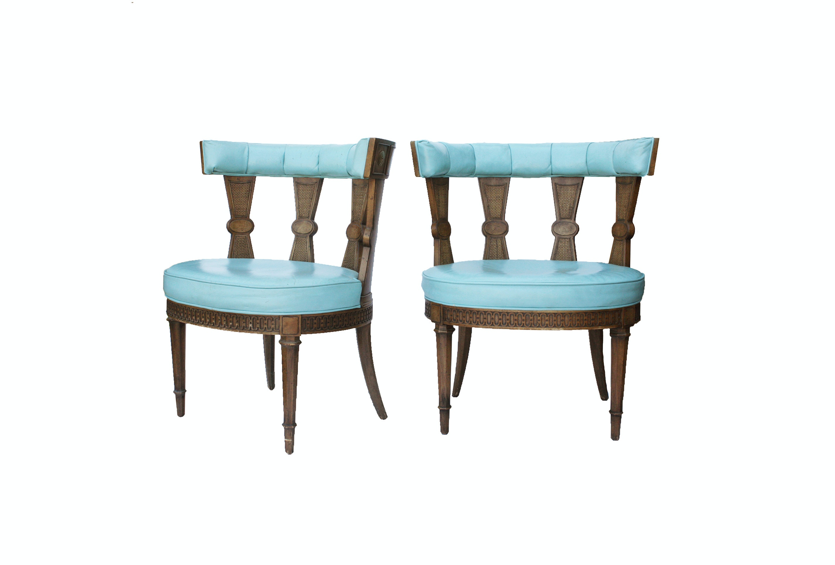 Pair of Vintage Louis XVI Style Chairs
