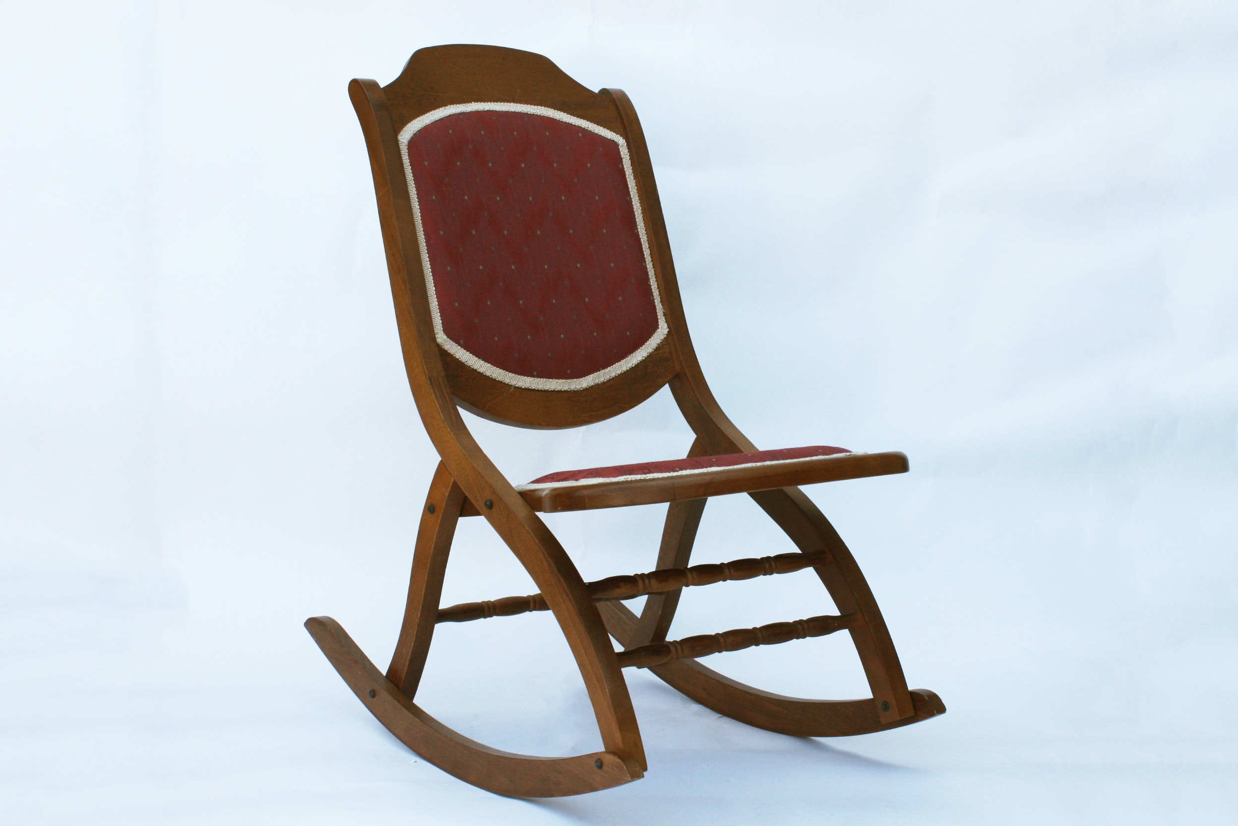 Vintage Folding Rocking Chair