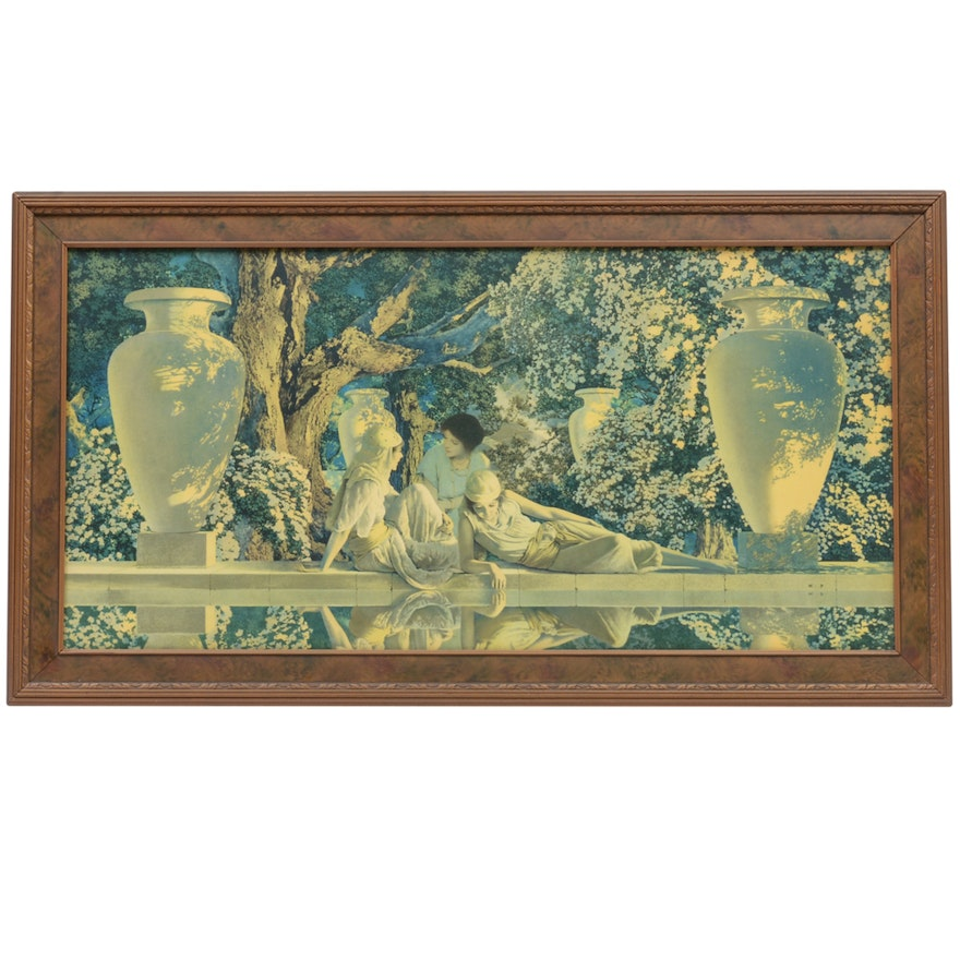 Maxfield Parrish Offset Lithograph \