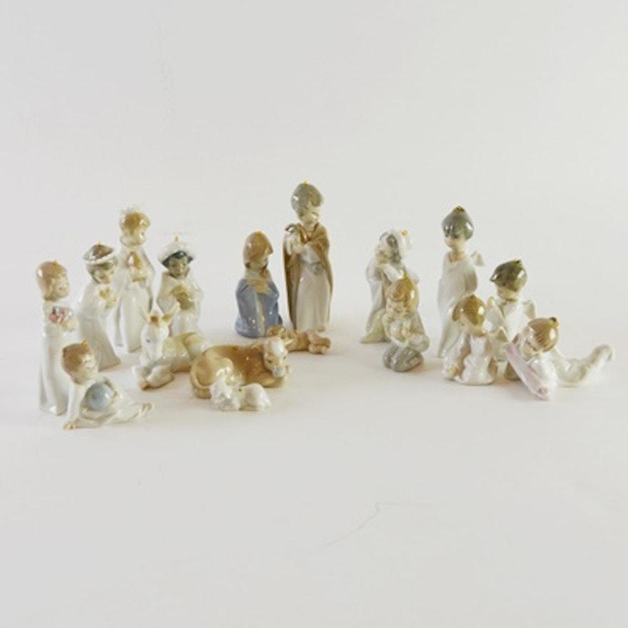 Lladro Nativity Ornament Set : EBTH