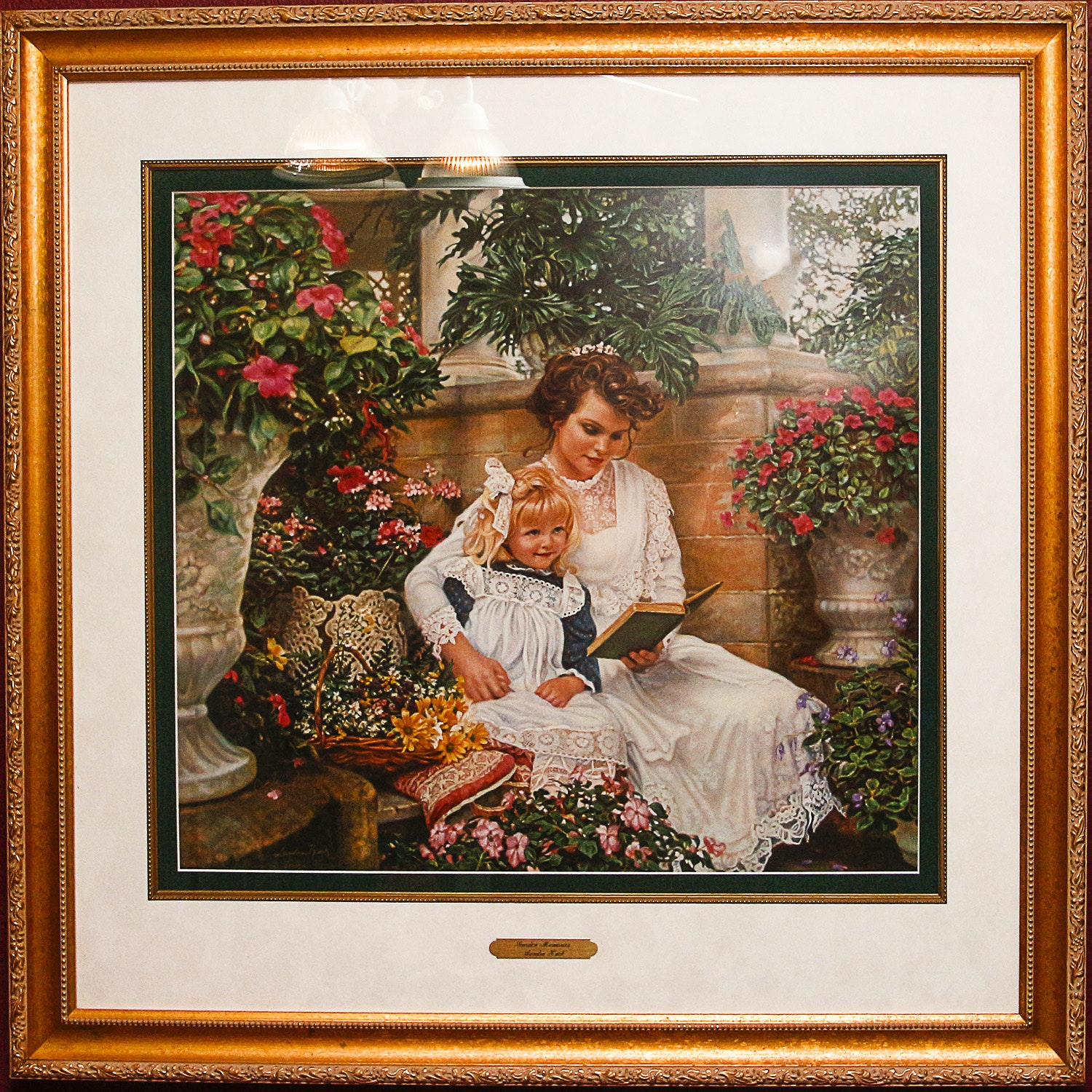 "Limited Edition Print After ""Garden Memories"" by Sandra Kuck"