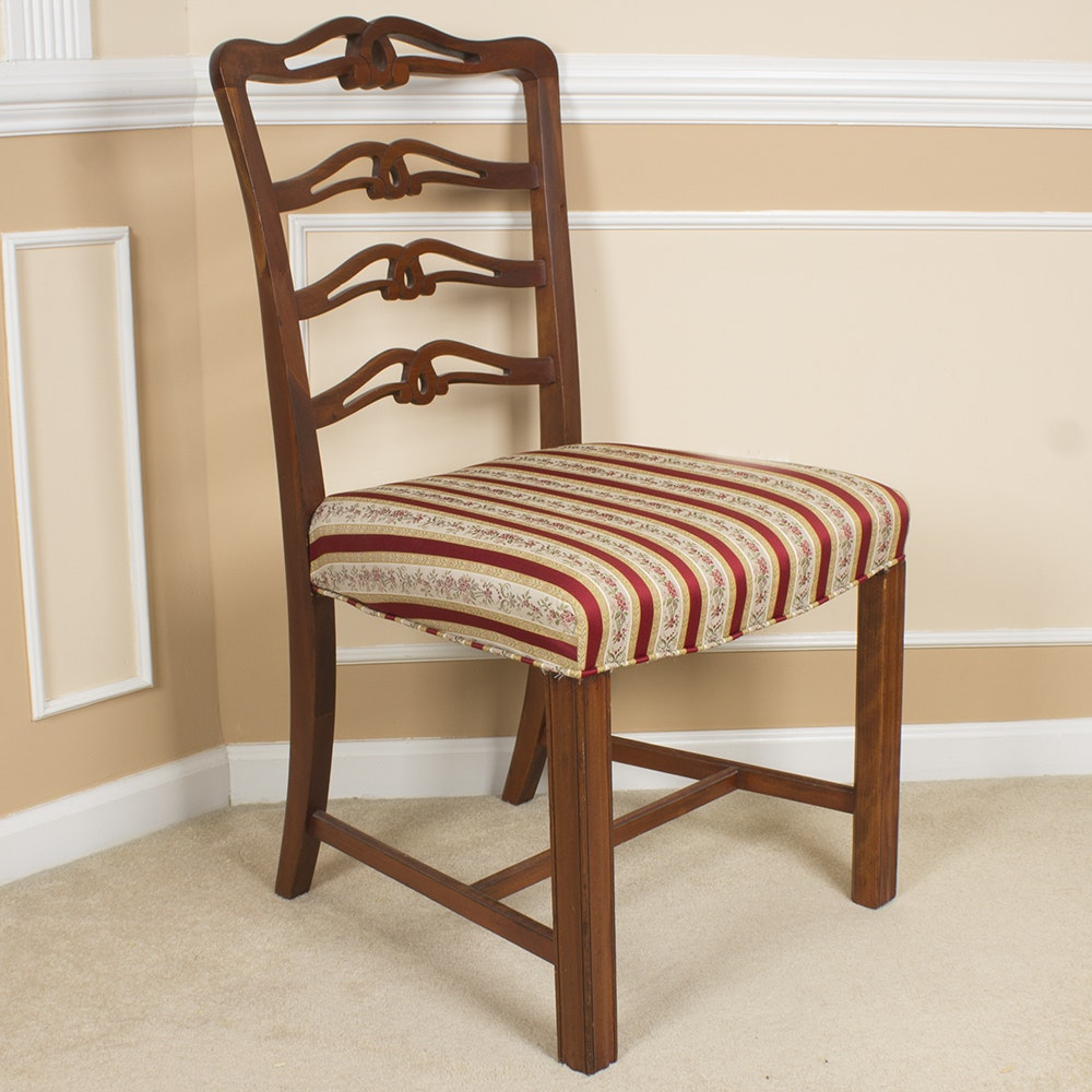 Chippendale Style Ladderback Chair