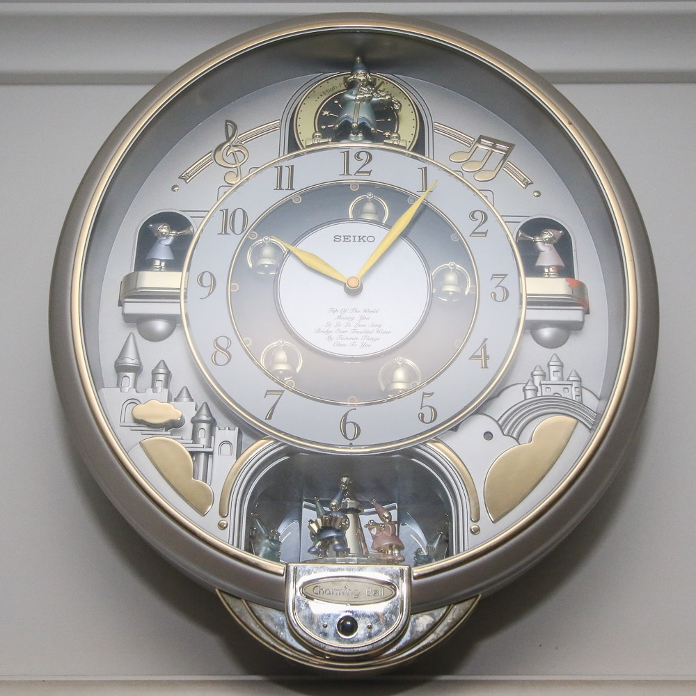 Seiko Quot Charming Bell Quot Melodies In Motion Whimsical Wall