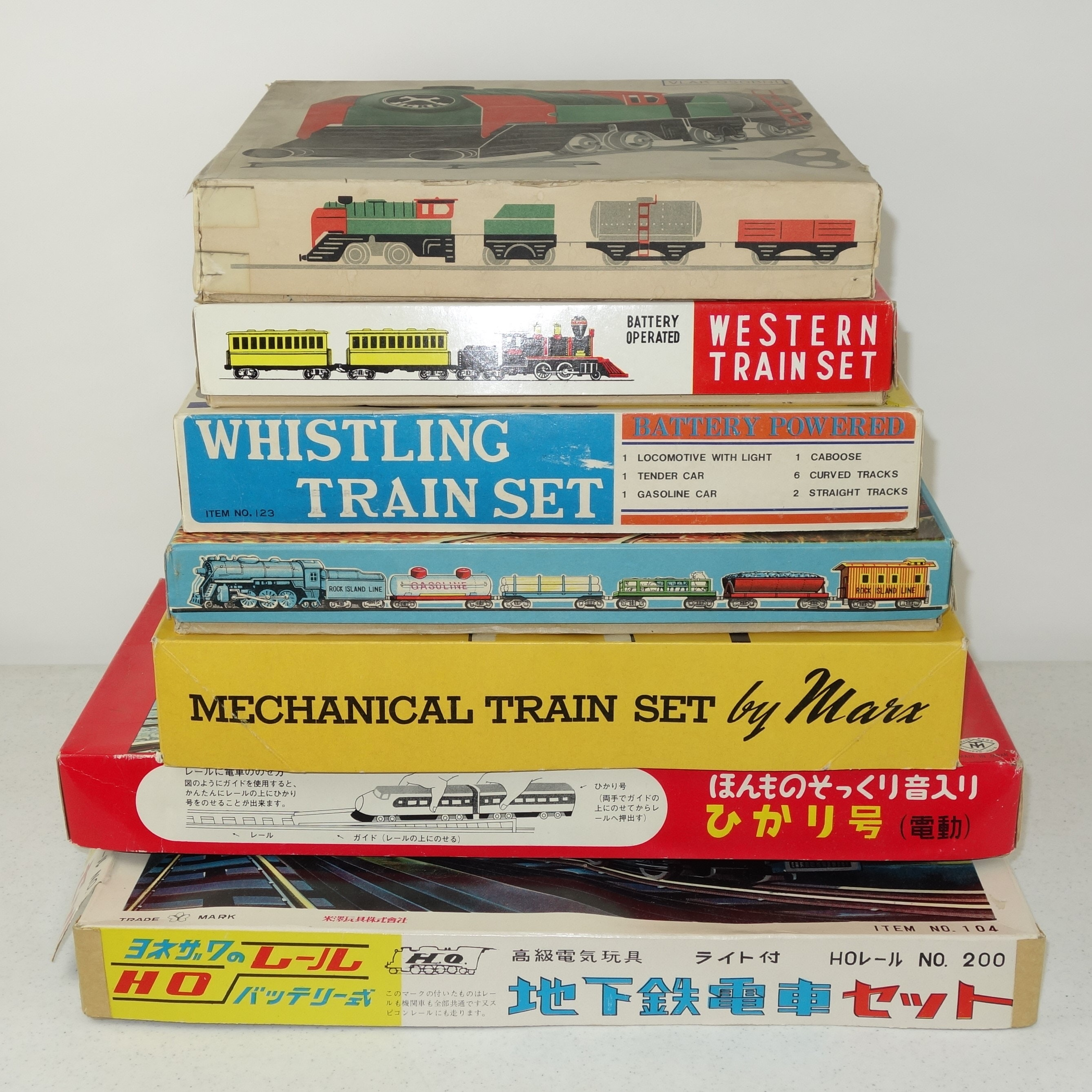 Marx and Other Vintage Train Sets