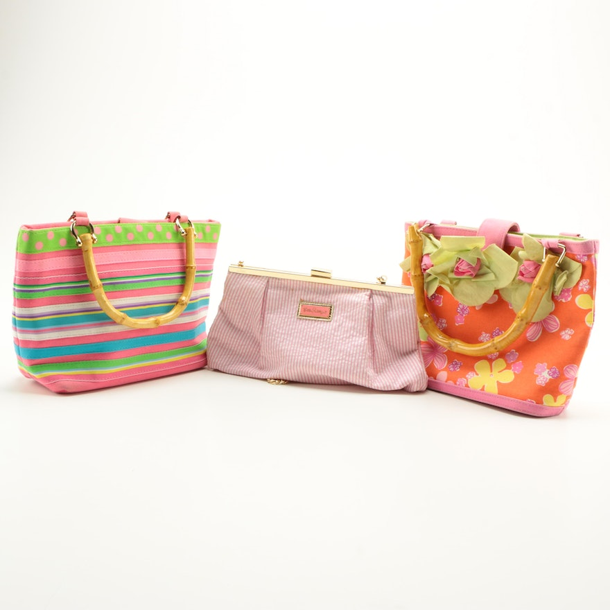 Lilly Pulitzer And Tianni Handbags