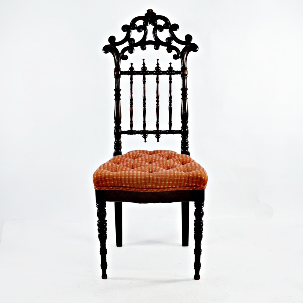 Eastlake Style Side Chair