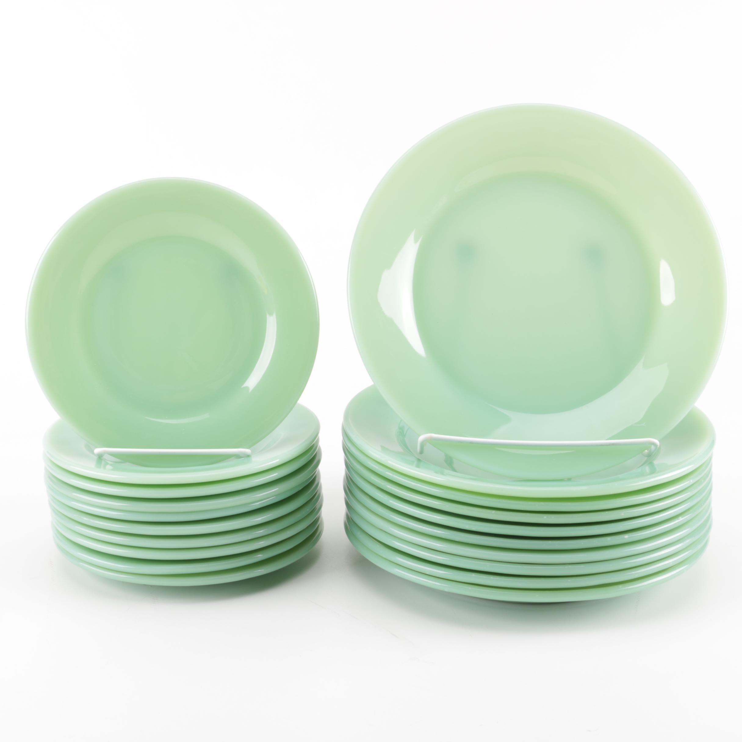 Fire-King Jadeite Dinner and Salad Plates ...  sc 1 st  EBTH.com & Fire-King Jadeite Dinner and Salad Plates : EBTH