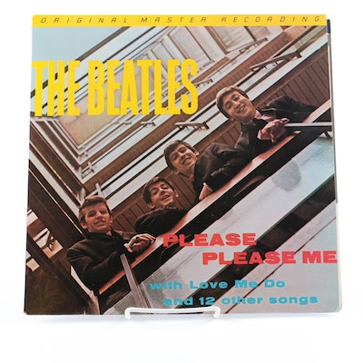 "The Beatles ""Please Please Me"" Original Master Recording LP"