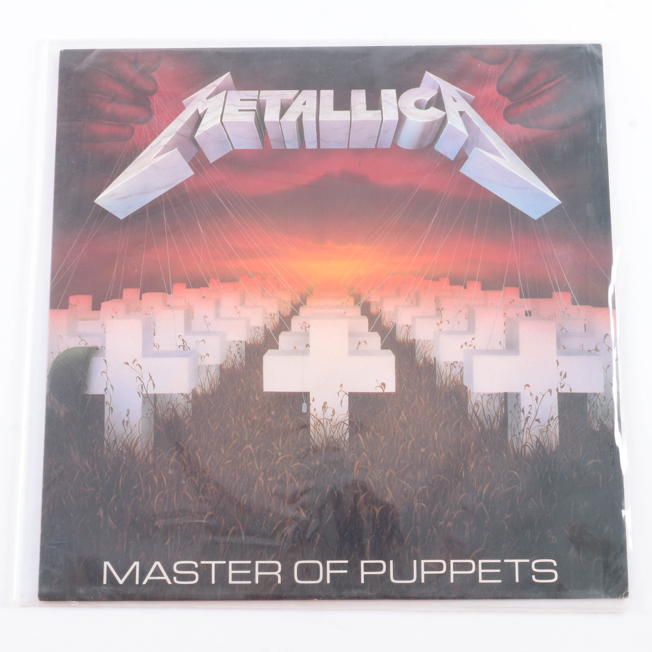 "Metallica ""Master of Puppets"" First US Pressing LP"